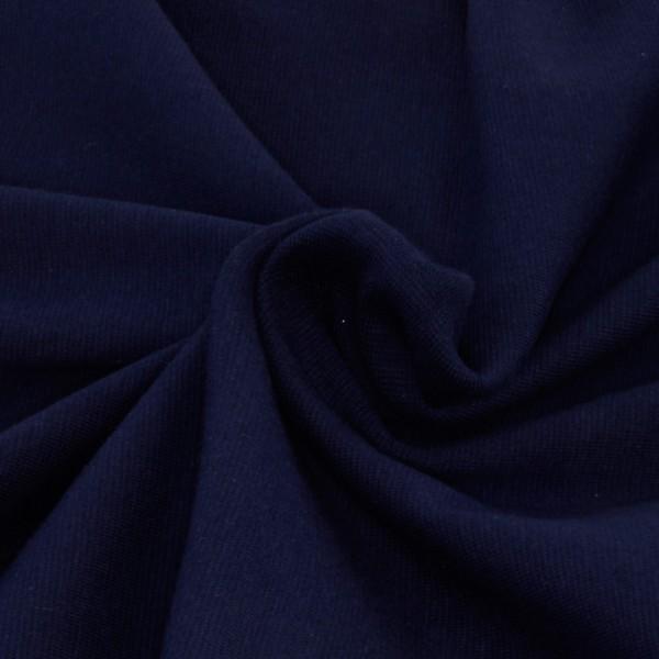 Bündchenstoff Stahlblau