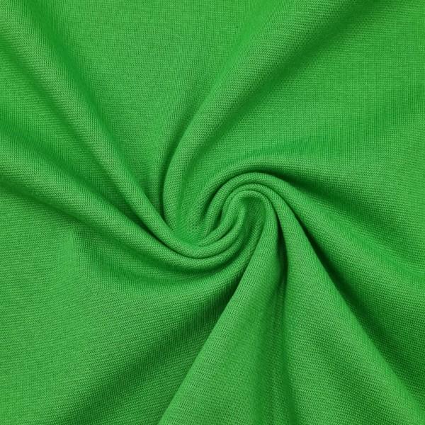 Bündchenstoff Grün