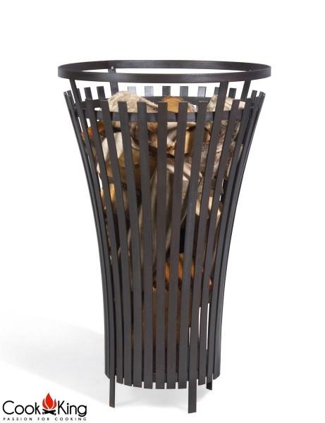 COOK KING BBQ Grill Gartenfeuer Feuerstelle Feuerkorb Flame 40 cm