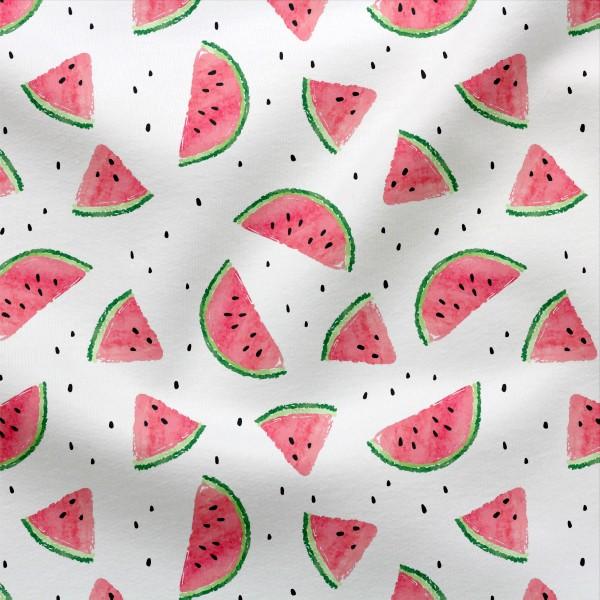 Jerseystoff Digitaldruck One in a Melon