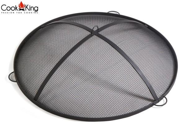 COOK KING BBQ Grill Funkenhaube für Feuerschalen mit 70 cm 80 cm Durchmesser