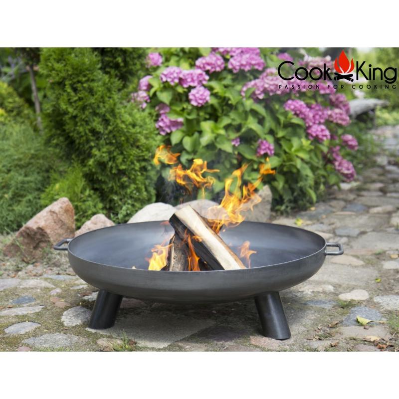 Feuerschale BALI Feuerkorb Ø 60 70 80 cm Terrasse Gartenfeuer Grill Feuerstelle