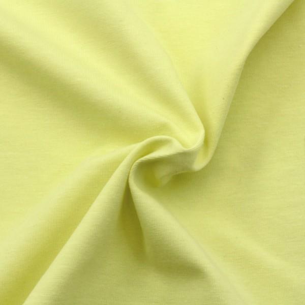 Jersey Stoff Limonengelb