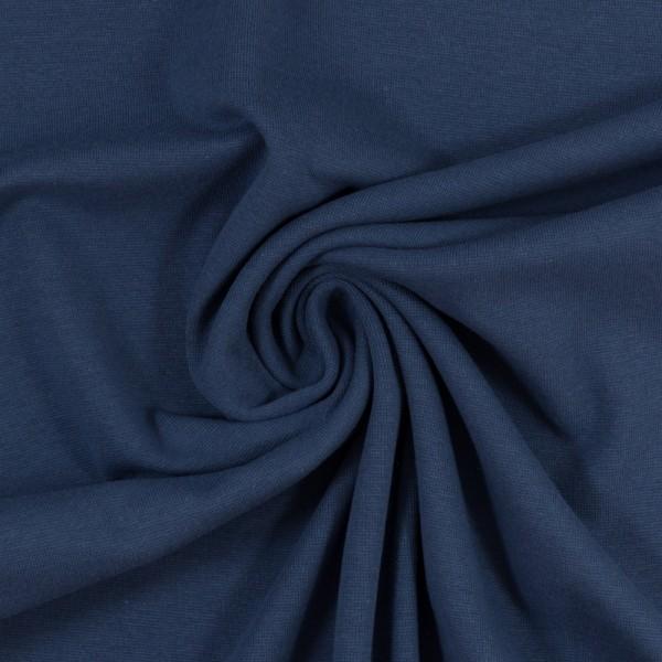 Bündchenstoff Heike Jeansblau