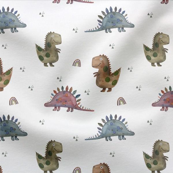 Jerseystoff Digitaldruck Baby Dinos