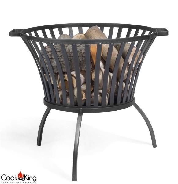 COOK KING BBQ Grill Gartenfeuer Feuerstelle Feuerkorb Ibiza 60 cm