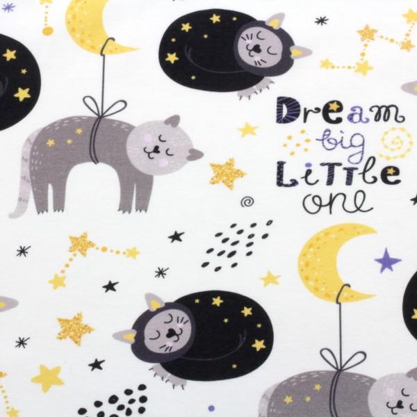 Jerseystoff Digitaldruck Dreamcats