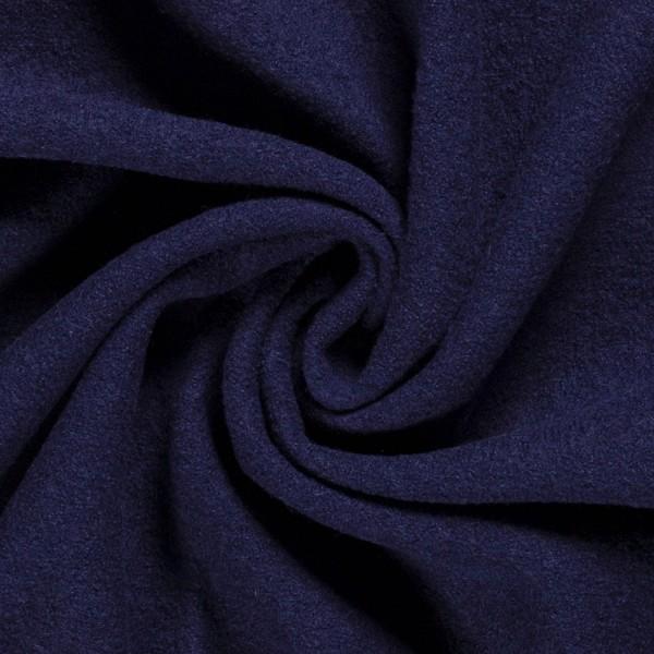 Walkloden Marineblau