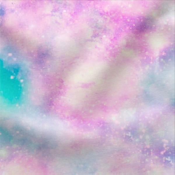 Jerseystoff Digitaldruck Batik Unicorn