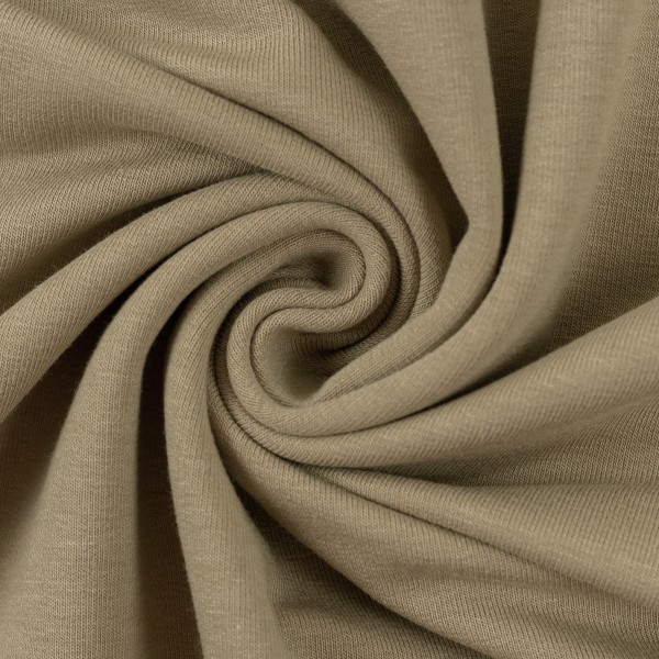 Jersey Stoff Taupe