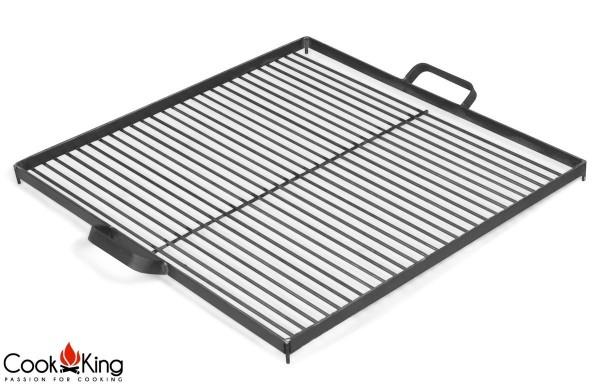 COOK KING BBQ Grill Rost Rohstahlrost 58x58 cm für Feuerschale 80 cm
