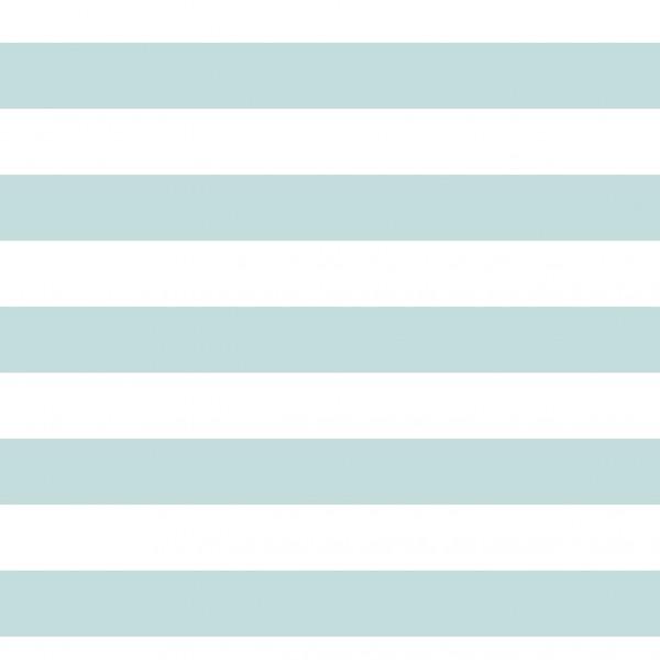 Jerseystoff Digitaldruck Blaugrün Stripes