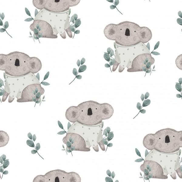 French Terry Digitaldruck Koalababy