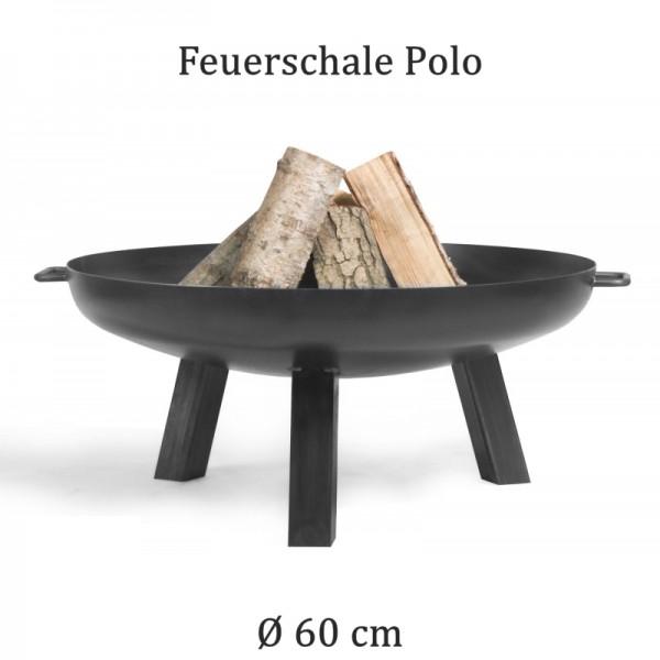 COOK KING Feuerschale Grillschale Polo 60cm 70cm 80cm 100cm BBQ Grill Feuerkorb