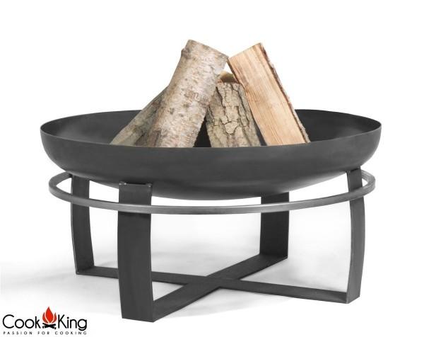 COOK KING Feuerschale Grillschale Viking ø 80cm BBQ Grill Feuerkorb