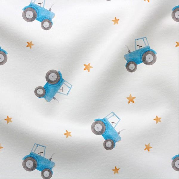 Jerseystoff Digitaldruck Traktortraum