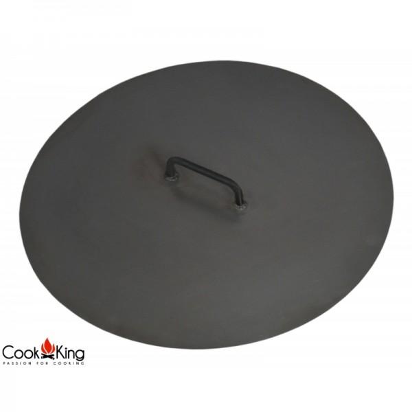 COOK KING BBQ Grill Abdeckung für Feuerschalen mit Durchmesser 80 cm 100cm
